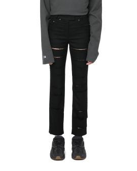Cut-out jeans