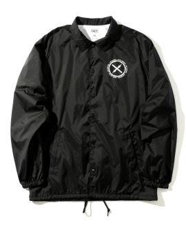 Danger Skull print coach jacket