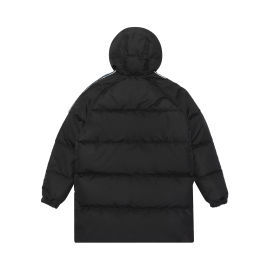 Taped sleeve down coat