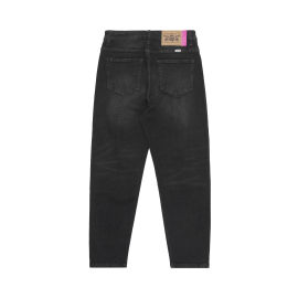 Logo patch jeans