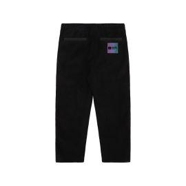 Contrast emblem pants
