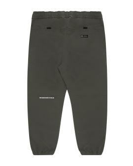 Logo print pants