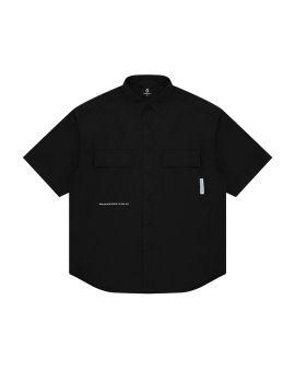 Logo patch shirt