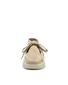 Wallabee derby shoes