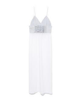 Sheer tank top dress