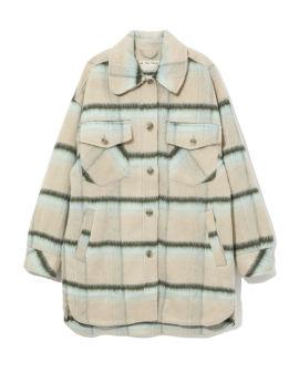 Stripe overcoat