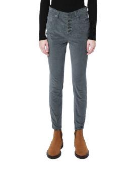 Button up corduroy pants