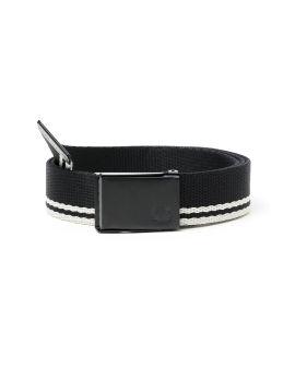 Tipped webbing belt