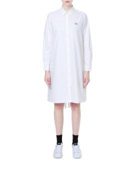 Fishtail shirt dress