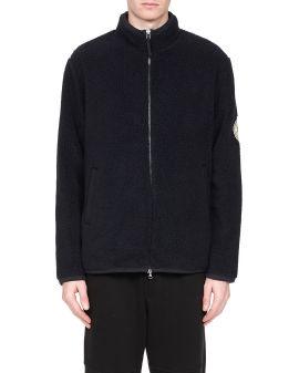 Borg fleece zip jacket