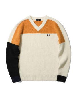 Abstract Alpaca  sweater