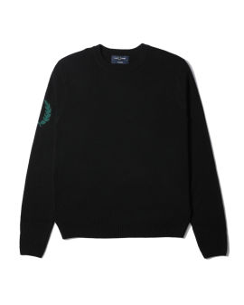 Laurel Wreath jacquard sweater