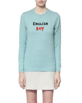 """X Bella Freud """"English Boy"""" knit sweater"""