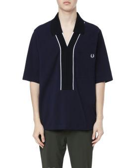 X Casely-Hayford Overhead pique polo shirt