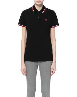 Twin tip polo shirt