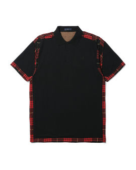 Cut-away polo shirt