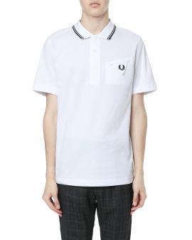 X Casely-Hayford Shirting back polo shirt