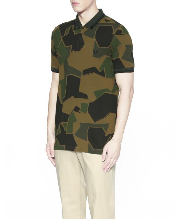 70b6cf8e Fred Perry X Arktis camo polo shirt