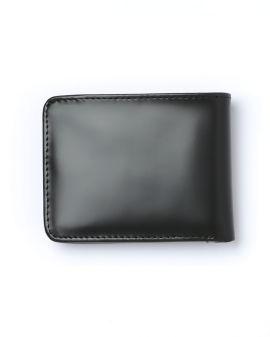 Matt leather billfold wallet
