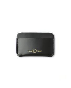 Matt leather card holder