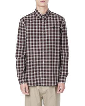 Logo checker shirt