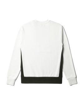 Panelled sweatshirt