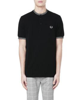 Stripe Henley Polo shirt
