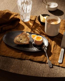 Flow Breakfast Plate - Black