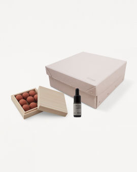 Gift Box: From Soil To Form  room diffuser and Deep Forest Oil set