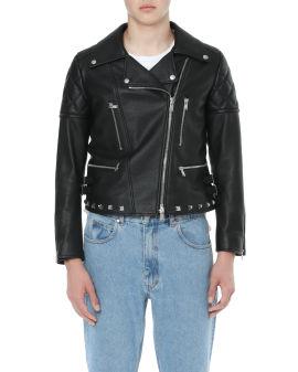 X Lanvin biker jacket