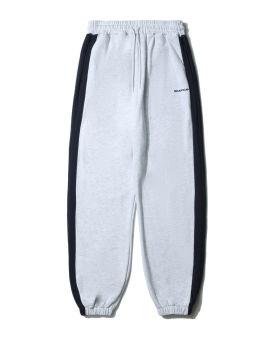 Side stripe sweat pants