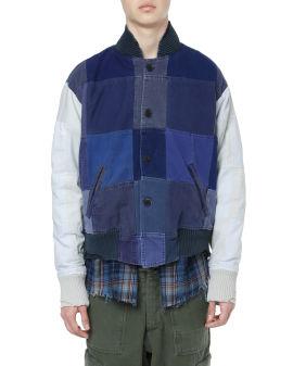 French Artist Scrapwork varisty jacket
