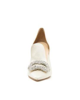 Daphne crystal-embellished pumps