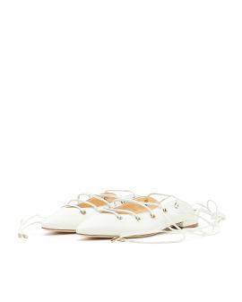 Olivia lace-up flats