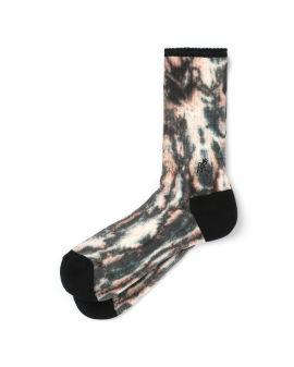 Logo tie-dye socks