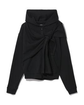 Wrap hoodie