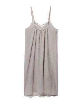 Textured camisole midi dress