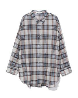 Plaid shirt jacket