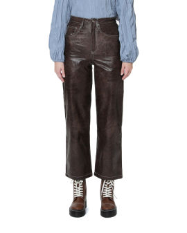Knight Faux Leather Pants