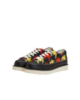 Opal faux fur sneakers