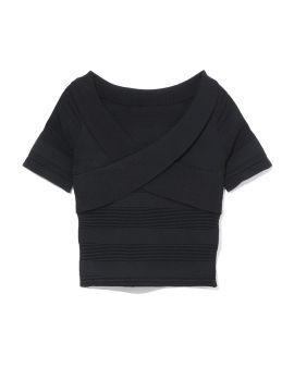 Rib knit top
