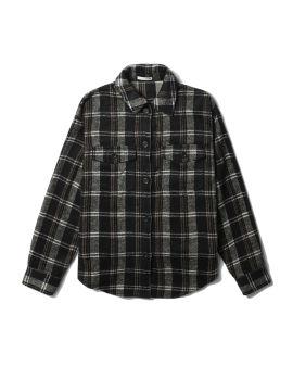 Plaid buttoned shirt