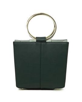 Circle handle box bag