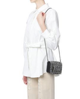 Tweed buckle bag