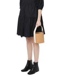 Top handle bucket bag
