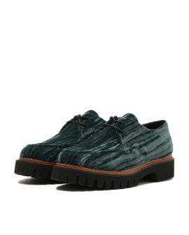 Chunky sole oxford shoes