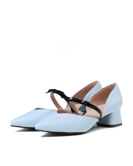 Bow strap heels