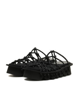 Drawstring sandals