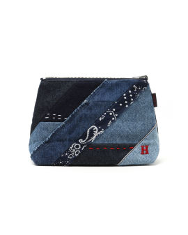 Mix Patchwork coin pouch