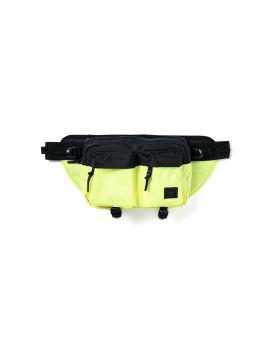 Colour contrast bum bag